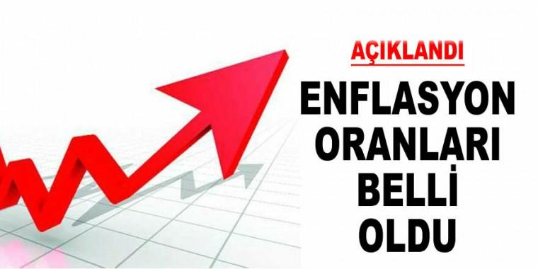 ENFLASYON RAKAMLARI ARTIŞ GÖSTERDİ !