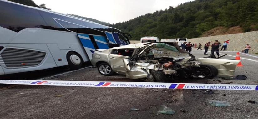Feci Kaza...1 Ölü 8 Yaralı.