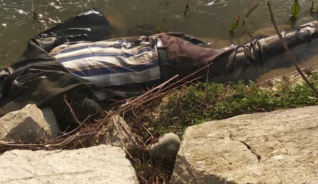 Irmakta ölü bulundu